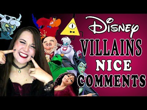 Disney Villains Read Nice Comments - Madi2theMax