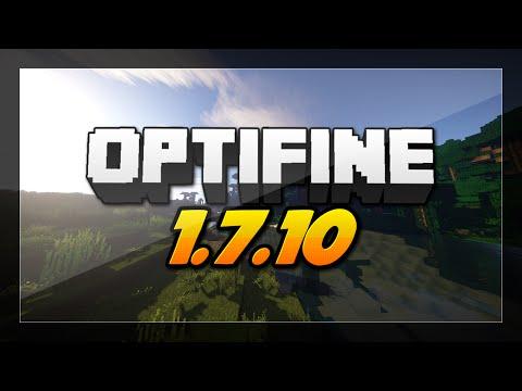 Minecraft How to Install Optifine 1.7.10 Mod - Tutorial Minecraft Forge Installation