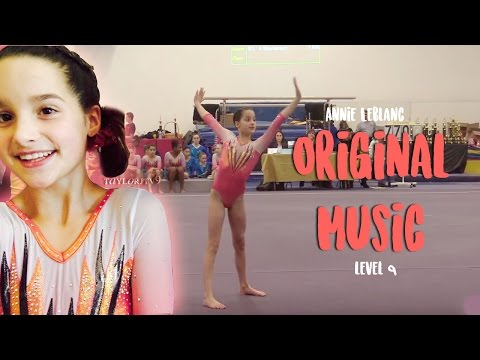 Annie Leblanc Level 9 Floor Routine With REAL MUSIC!