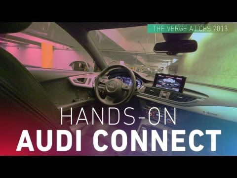 Hands-on with Audi's self-driving car at CES 2013