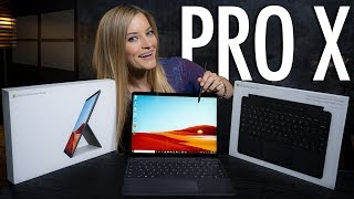 ✨NEW✨ Microsoft Surface Pro X! Review and Drawing Challenge!