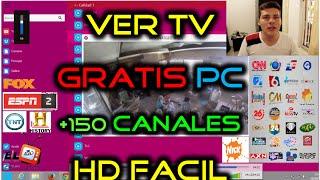 Como Ver TV GRATIS para PC en Windows 8 y Windows 10 + 100 Canales Premium HD IPTV