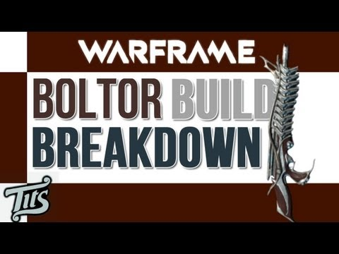 Warframe ♠ 8.1 - Revised Boltor Build - Best High lvl Defense Rifle. Excluding Dojo Weps