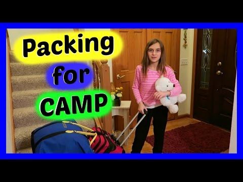 PACKING FOR CAMP