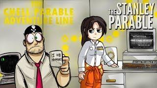 ПОРТАЛЬНЫЙ СТЕНЛИ. ФИНАЛ ► The Stanley Parable  5  Русская озвучка. Прохождение