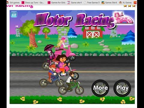 Dora The Explorer:Motor Racing - Play Kids Games - Nickelodeon