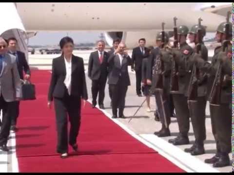 Tayland Başbakanı Yingluck Shinawatra Istanbulda