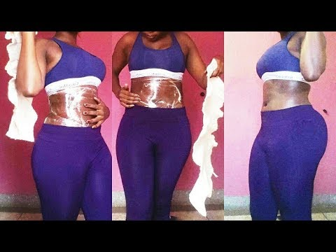 TEST:It Worked For Me.Lose waist and tummy  Inches With Body Wrap + Corset