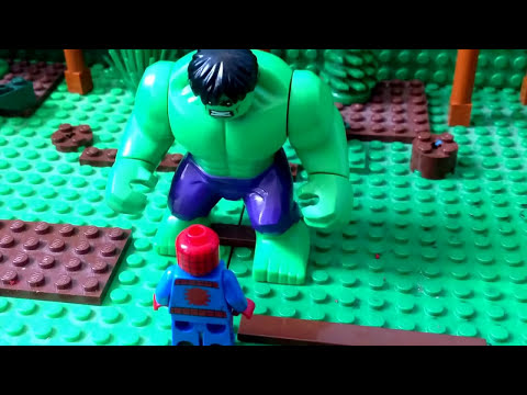 Lego Spiderman & Hulk