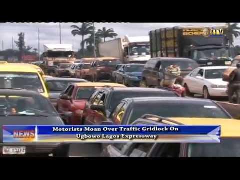 Motorists moan over traffic gridlock on Ugbowo Lagos Expressway