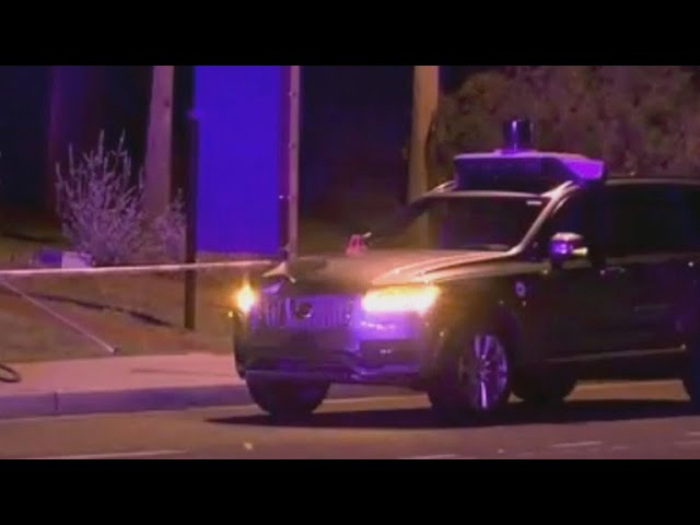 Video released from fatal self-driving Uber crash