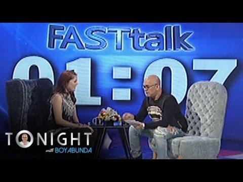 TWBA: Fast Talk with Cloie