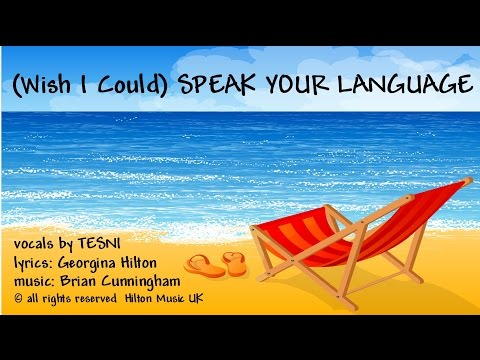 (wish I Could) Speak Your Language - Just A Holiday   Vacation Romance! video