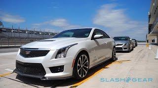 2016 Cadillac ATS-V first-drive