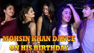 Shivangi Joshi & Mohsin Khan Dance on His Birthday  - Naira Dance