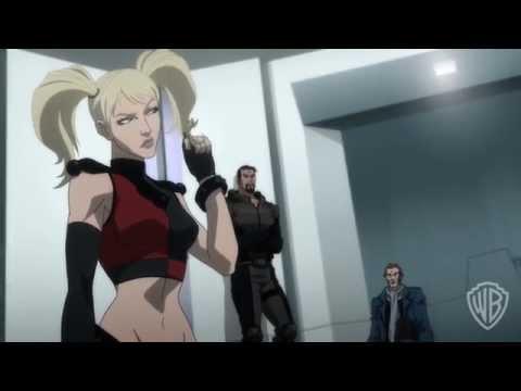 A clip from Batman: Assault on Arkham