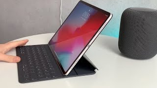 "Smart Keyboard Folio für 12,9"" iPad Pro Review (deutsch)"