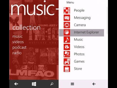 Window 8 On Nokia 5800 XpressMusic RM-356 CFW | Firmware Metro 8