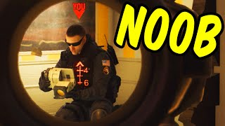 The Noob - Rainbow Six Siege Funny Moments & Epic Stuff (Siege Week)