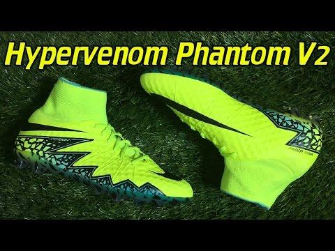 Nike Hypervenom Phantom 2 v2 AG (Spark Brilliance Pack) - Review + On Feet