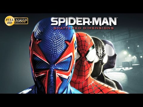 Spiderman Shattered Dimensions Full Movie Pelicula Completa...