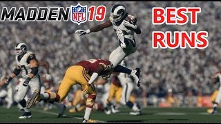 MADDEN 19 BEST RUNS  COMPILATION (COMMUNITY FOOTAGE)