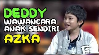 Reaksi DEDDY Wawancara AZKA Anak Sendiri Sbg Yutuber Cilik Milyarder - Hitam Putih 10 Oktober 2017