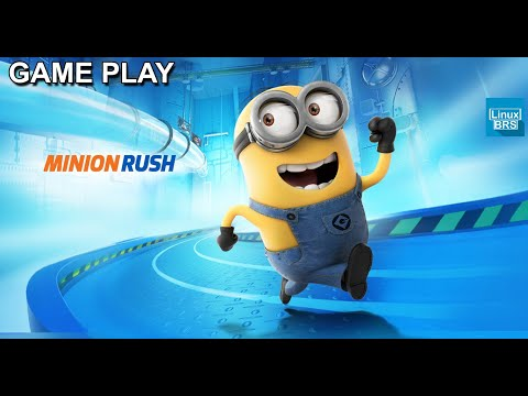 Gameplay Android - Minion Rush Meu Malvado Favorito - Samsung Galaxy Tab P6210 - Pt-br - Brasil video