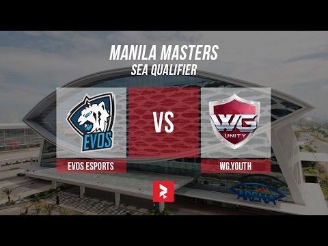 Live Evos Vs Wg Youth Bo3 Manila Masters Sea Qualifier