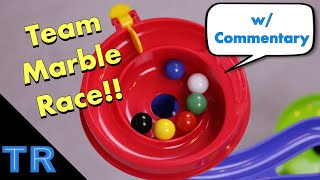 EPIC Team Marble Race #8 w/ Solid Colors | Toy Racing