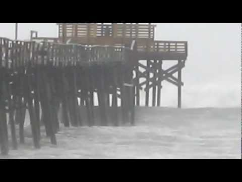 Hurricane Sandy Atlantic Beach, NC 10-27-12