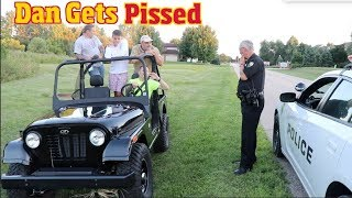 Testing the Mahindra Roxor- A cheap Jeep Knock off- until the Police came...