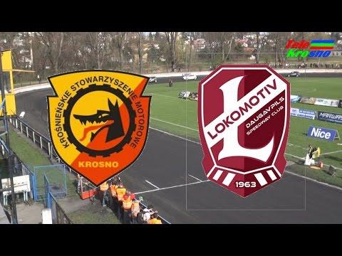 Żużel: KSM Krosno - Lokomotiv Daugavpils