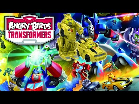 Angry Birds Transformers Telepods - Full Character Reveal video