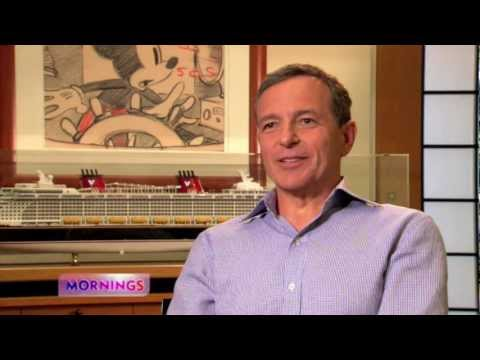 Disney Chairman and CEO Bob Iger Shares Thoughts on Leading The Walt Disney Company