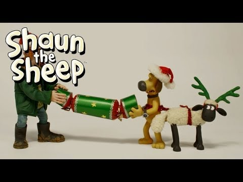 Merry Christmas from Shaun the Sheep!