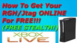 How To Get Your RGH/Jtag ONLINE For FREE - FREE Stealth Server 17502!