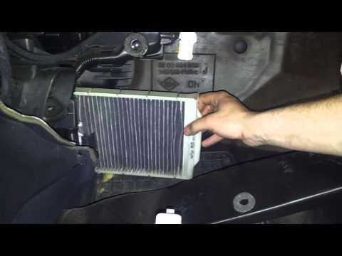 Замена топливного фильтра ниссан кашкай