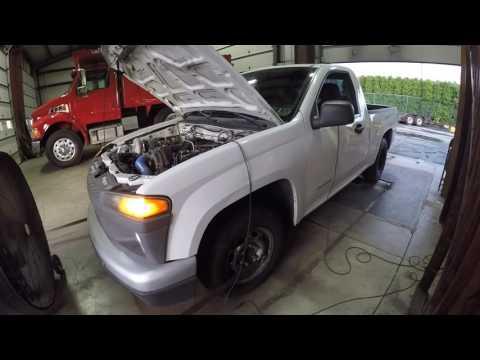 now 800whp junkyard LS turbo Colorado dyno update