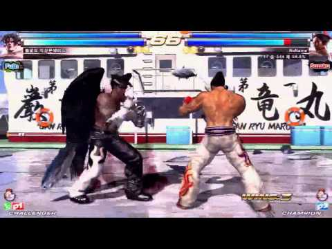 TEKKEN TAG2 UL 12/23 JI3MOON ACE VS 개발진