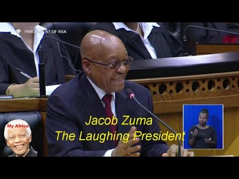 #ZumaMustFall - The Laughing President