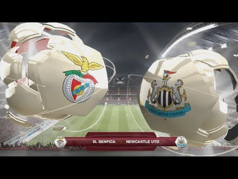FIFA 13 Career Mode Coach - Newcastle United S1 G47 vs Benfica