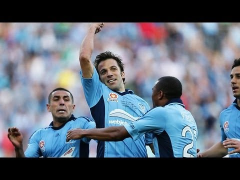 DEL PIERO TOP 10 GOALS SYDNEY FC 2012-13
