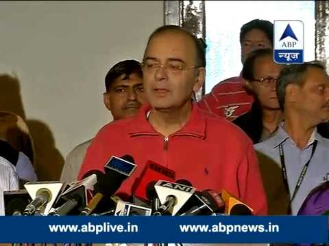 Black money: Not reluctant in revealing names, says Jaitley & blames Congress
