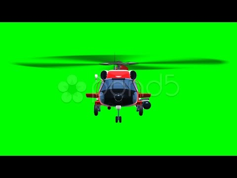 Saving Helicopter Fly. Stock Footage