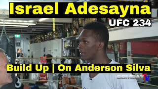 Israel Adesanya gives Anderson Silva a 6 on the IZZY threat meter