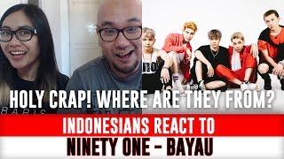 Indonesians React To NINETY ONE - BAYAU (QPOP) KAZAKHSTAN K-POP Version