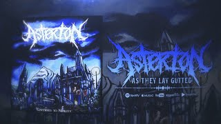 ASTERION - AS THEY LAY GUTTED [OFFICIAL LYRIC VIDEO] (2020) SW EXCLUSIVE