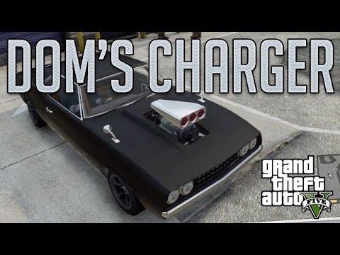 Gta 5 Custom Cars >> Dom's Charger Fast & Furious (Declasse Vigero) : GTA V ...