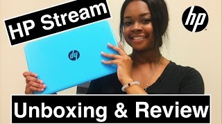 HP STREAM UNBOXING & REVIEW